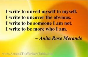 Anita Rose Merando's Quote