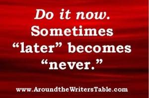 www.AroundtheWritersTable.com
