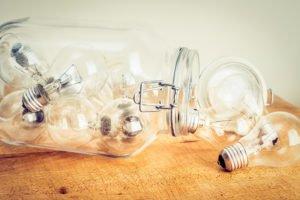 Lightbulbs in a Jar
